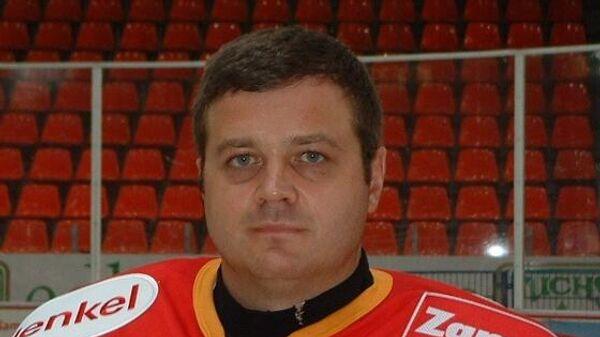 Хоккейный вратарь Андрей Трефилов