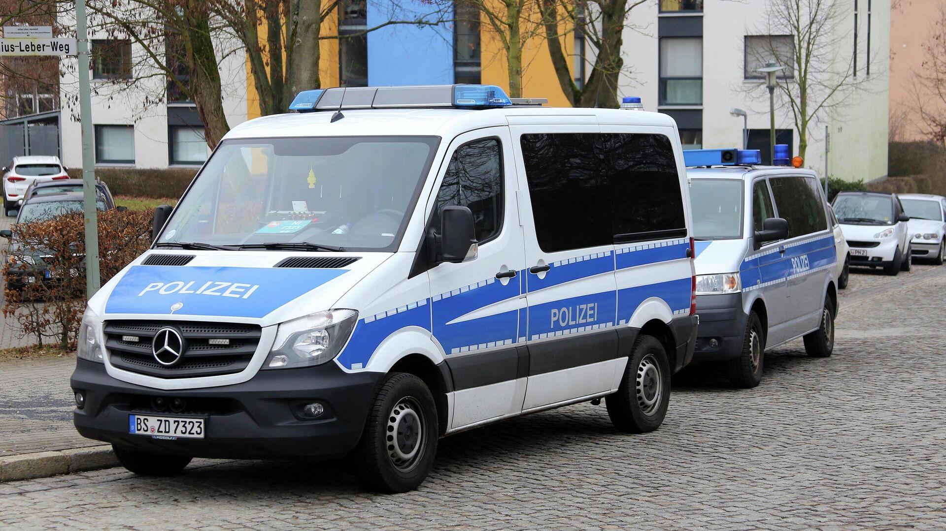 Автомобили полиции Германии - РИА Новости, 1920, 17.07.2020