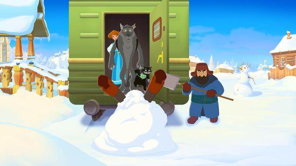 Кадр из мультфильма Иван Царевич и Серый Волк 4