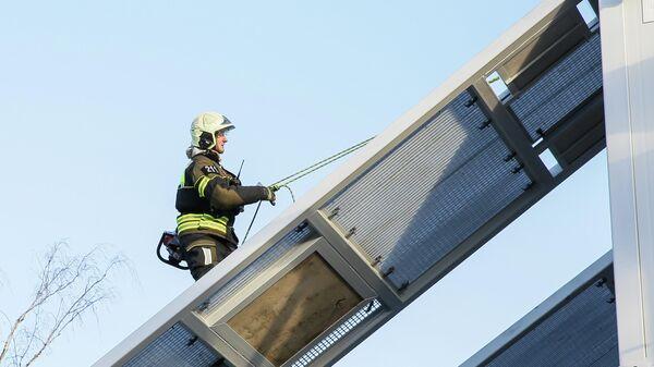 Открытие нового учебно-тренировочного комплекса спасателей