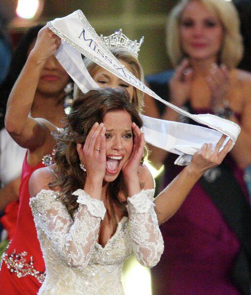 Мисс Америка 2009 Кэти Стэм
