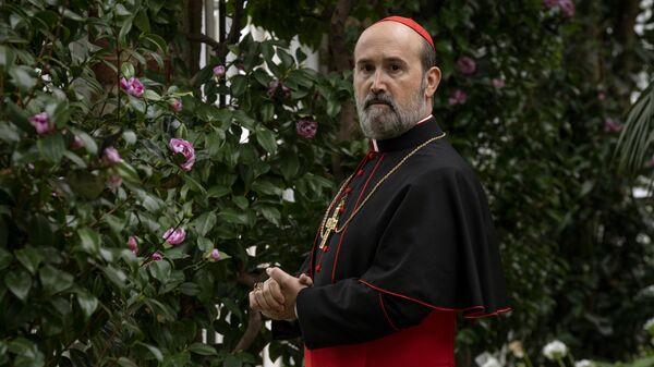 Кадр из сериала Новый папа