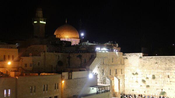 Храмовая гора и Стена Плача в Иерусалиме