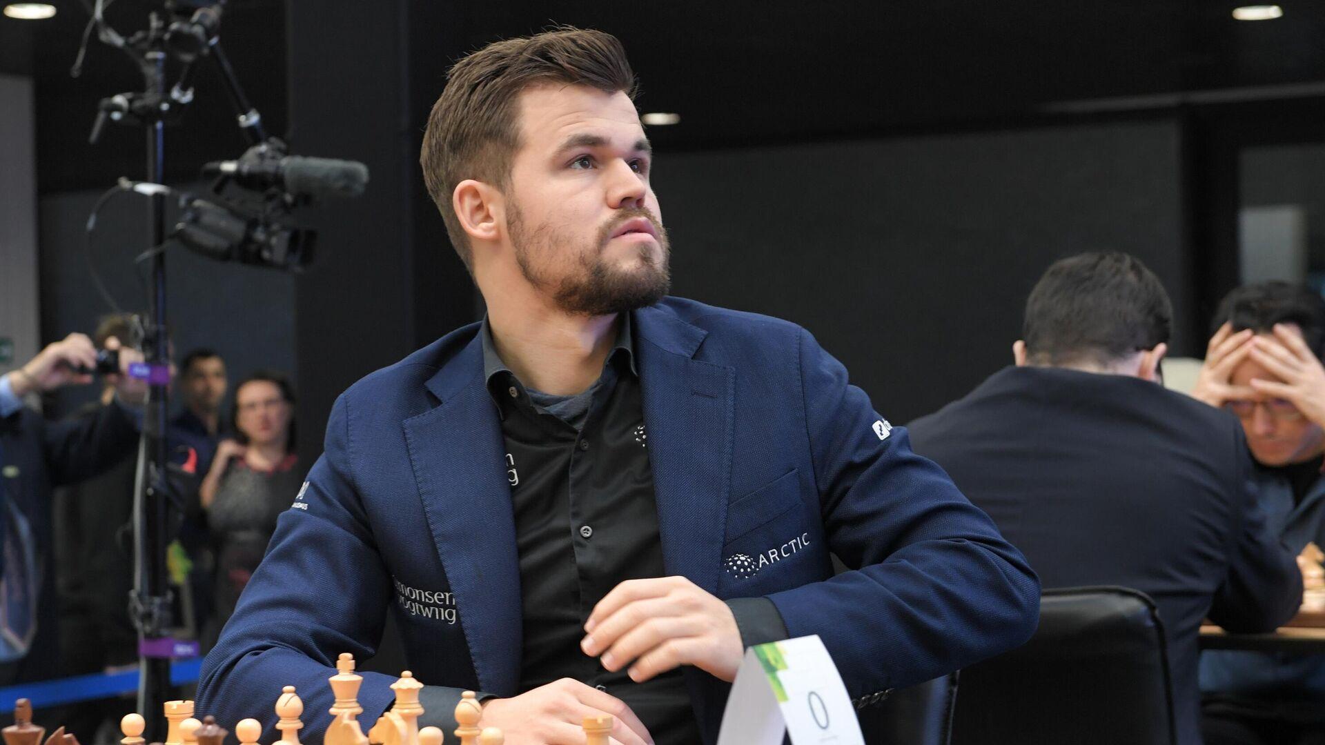 Норвежский шахматист Магнус Карлсен - РИА Новости, 1920, 15.02.2021
