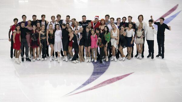 Участники чемпионата России по фигурному катанию в Красноярске