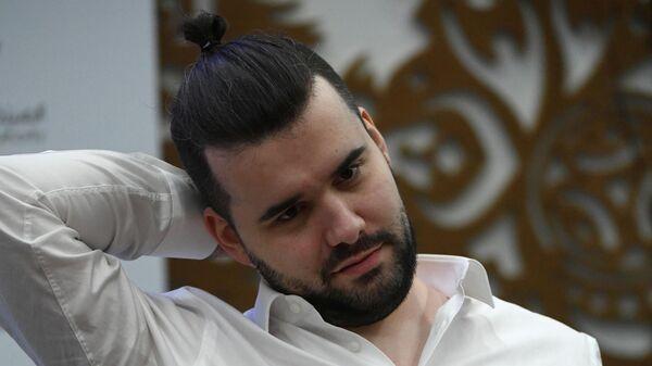 Российский гроссмейстер Ян Непомнящий