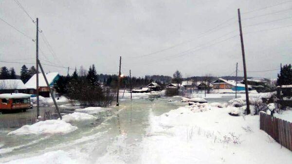 Подъем уровня воды в реках на севере Красноярского края