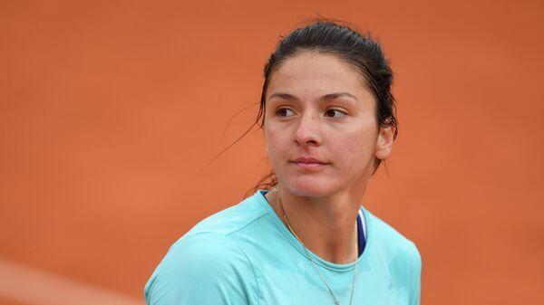 Теннисистка Маргарита Гаспарян (Россия)