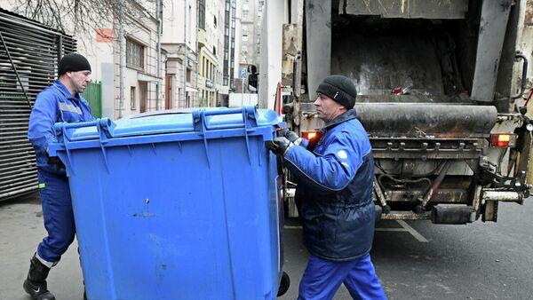 Вывоз мусорных контейнеров