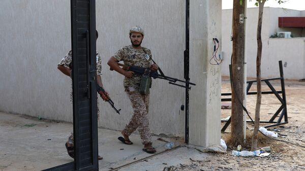 Бойцы ПНС в Триполи