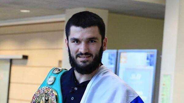 Российский боксер Артур Бетербиев