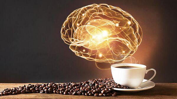 Чашка кофе и мозг
