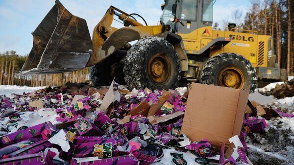 Утилизация 9000 упаковок снюсов на полигоне твердых бытовых отходов в Свердловской области