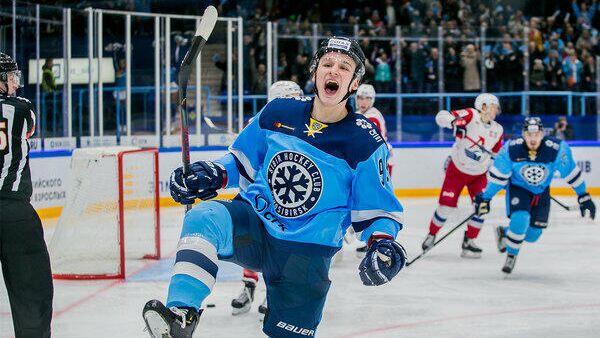 Сибирь (Новосибирск) - Локомотив (Ярославль) в матче регулярного чемпионата КХЛ