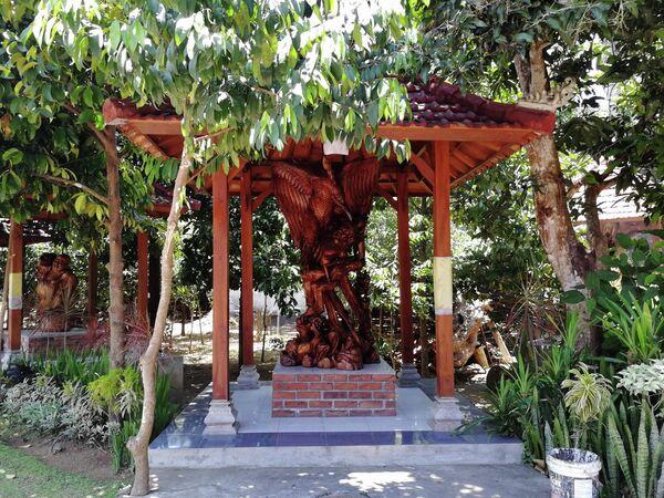 Бали. Деревня резчиков по дереву Мас