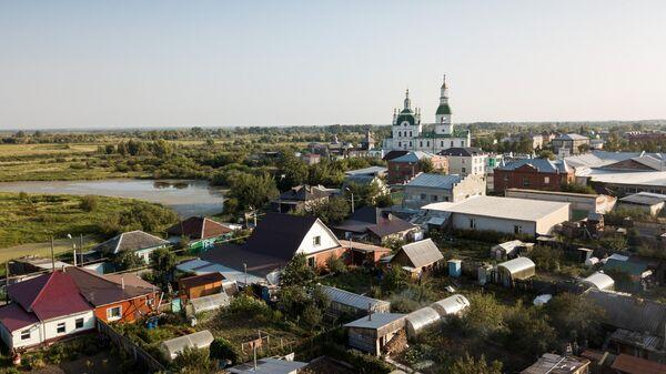 Вид город Ялуторовск в Тюменской области