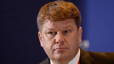 Телеведущий Дмитрий Губерниев