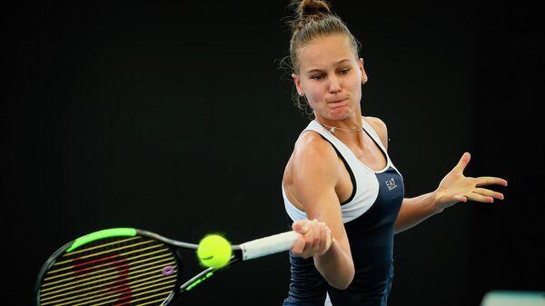 Теннисистка Вероника Кудерметова