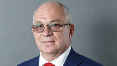 Член правления Федерации хоккея России Александр Стеблин