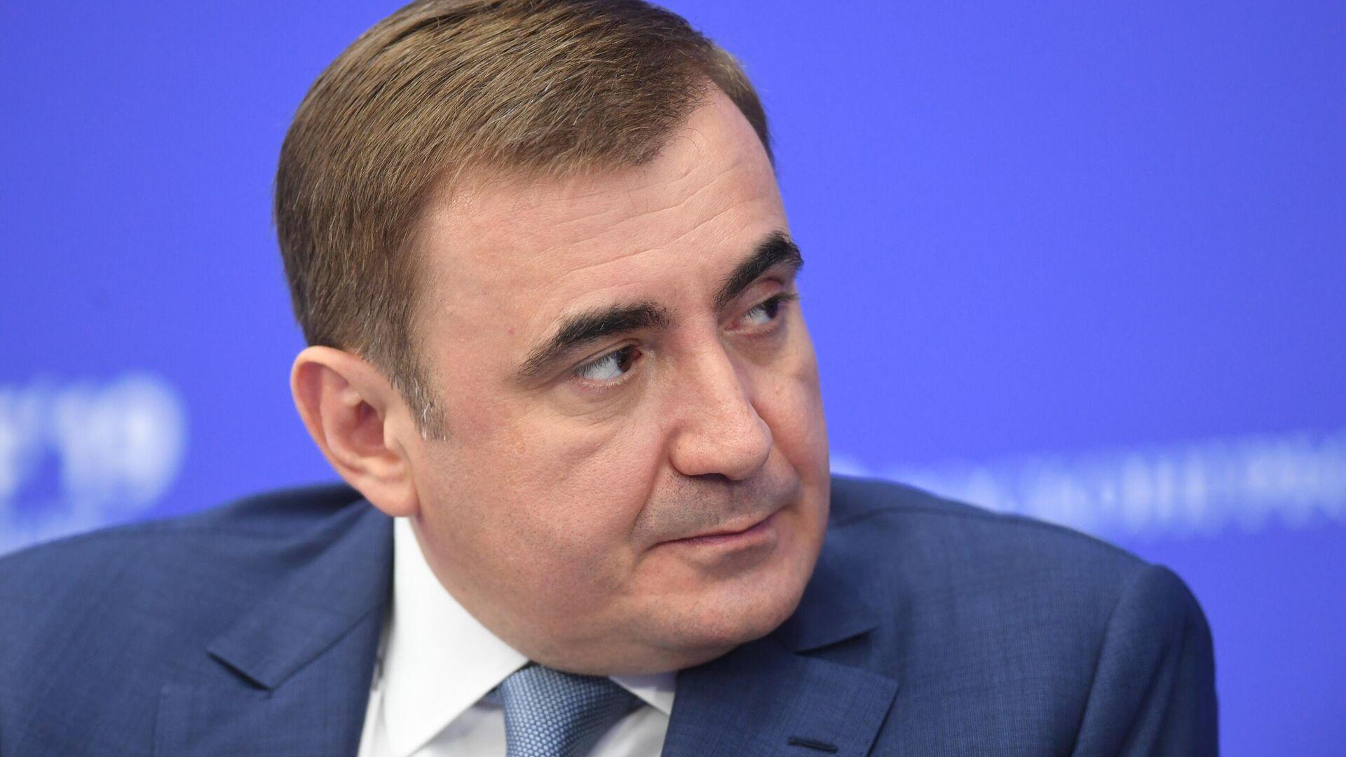Дюмин подал документы на выборы главы Тульской области