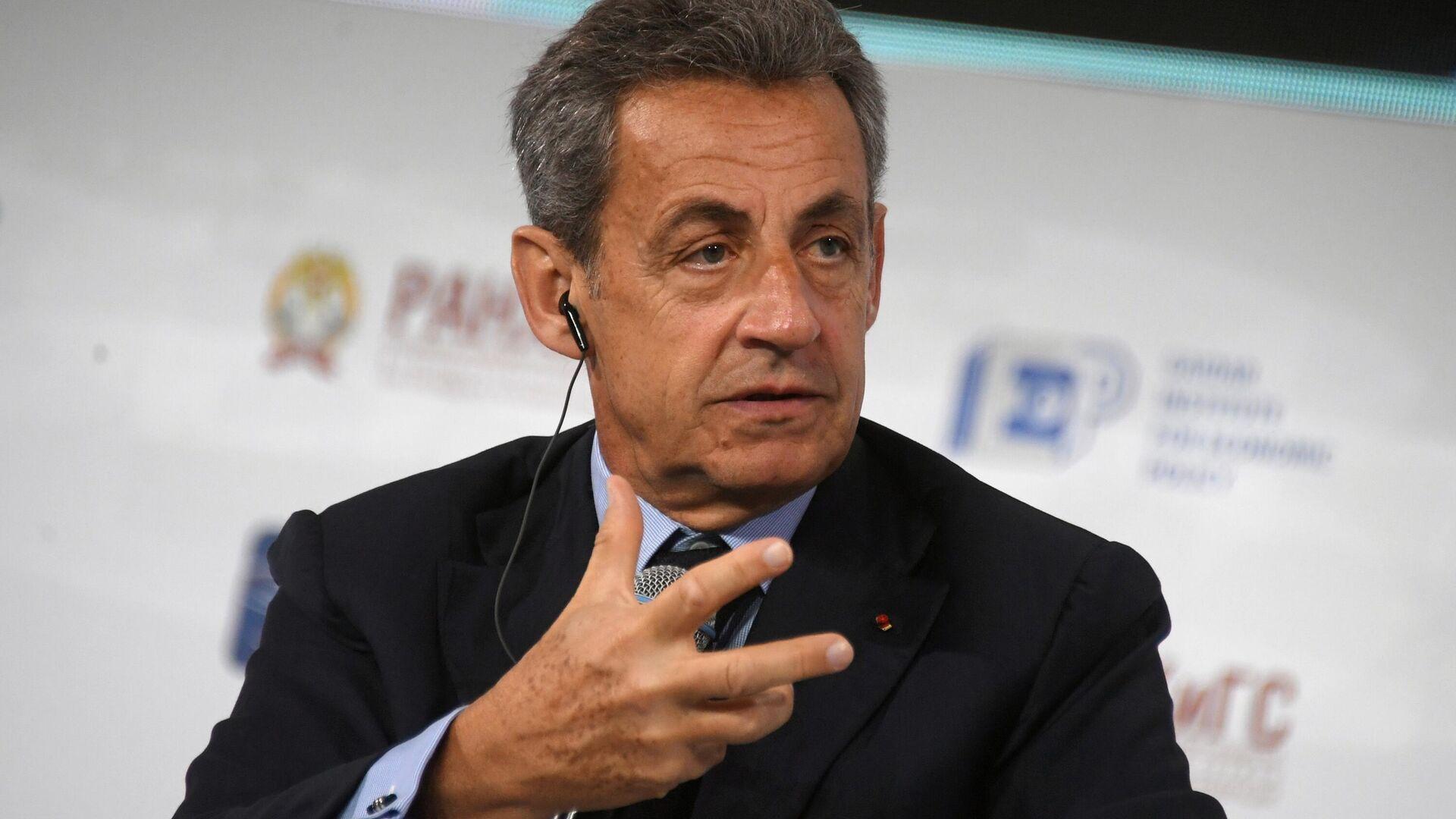 Николя Саркози на XI Гайдаровском форуме в Москве - РИА Новости, 1920, 23.11.2020