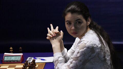 Шахматы. Первенство мира. А. Горячкина – Ц. Вэньцзюнь