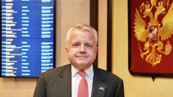Посол США в России Джон Салливан прибыл в Москву