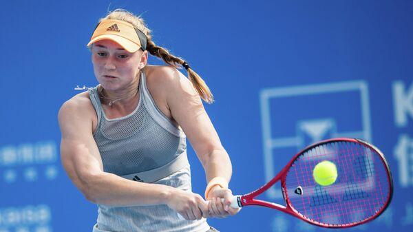 Теннисистка Елена Рыбакина (Казахстан)