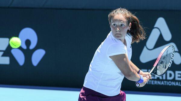 Теннисистка Дарья Касаткина (Россия)