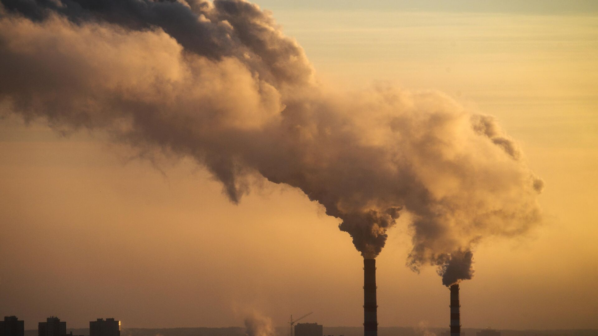 В Красноярске из-за дыма ввели режим неблагоприятных метеоусловий