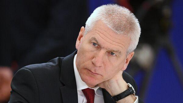 Президент международной федерации студенческого спорта Олег Матыцин