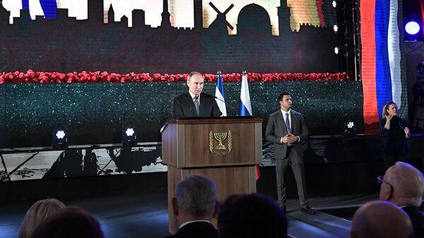 Путин рассказал в Израиле об очень личном