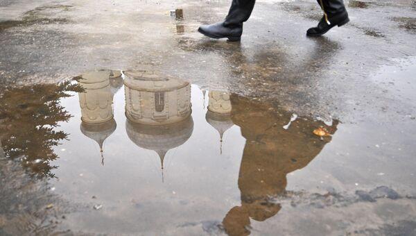 Второй день зимы в Москве уже повторил рекорд тепла плюс 7,1 градуса