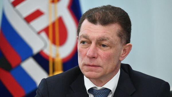 Глава Пенсионного фонда России Максим Топилин