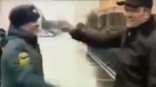 Глава Чувашии и начальник пожарной части