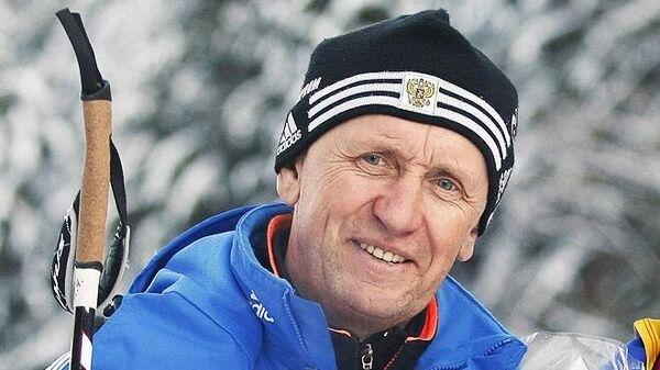Бывший тренер сборной России по биатлону Владимир Аликин