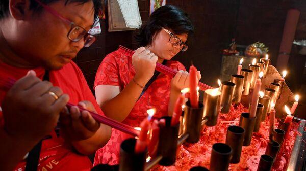 Празднование Нового года по лунному календарю на острове Бали