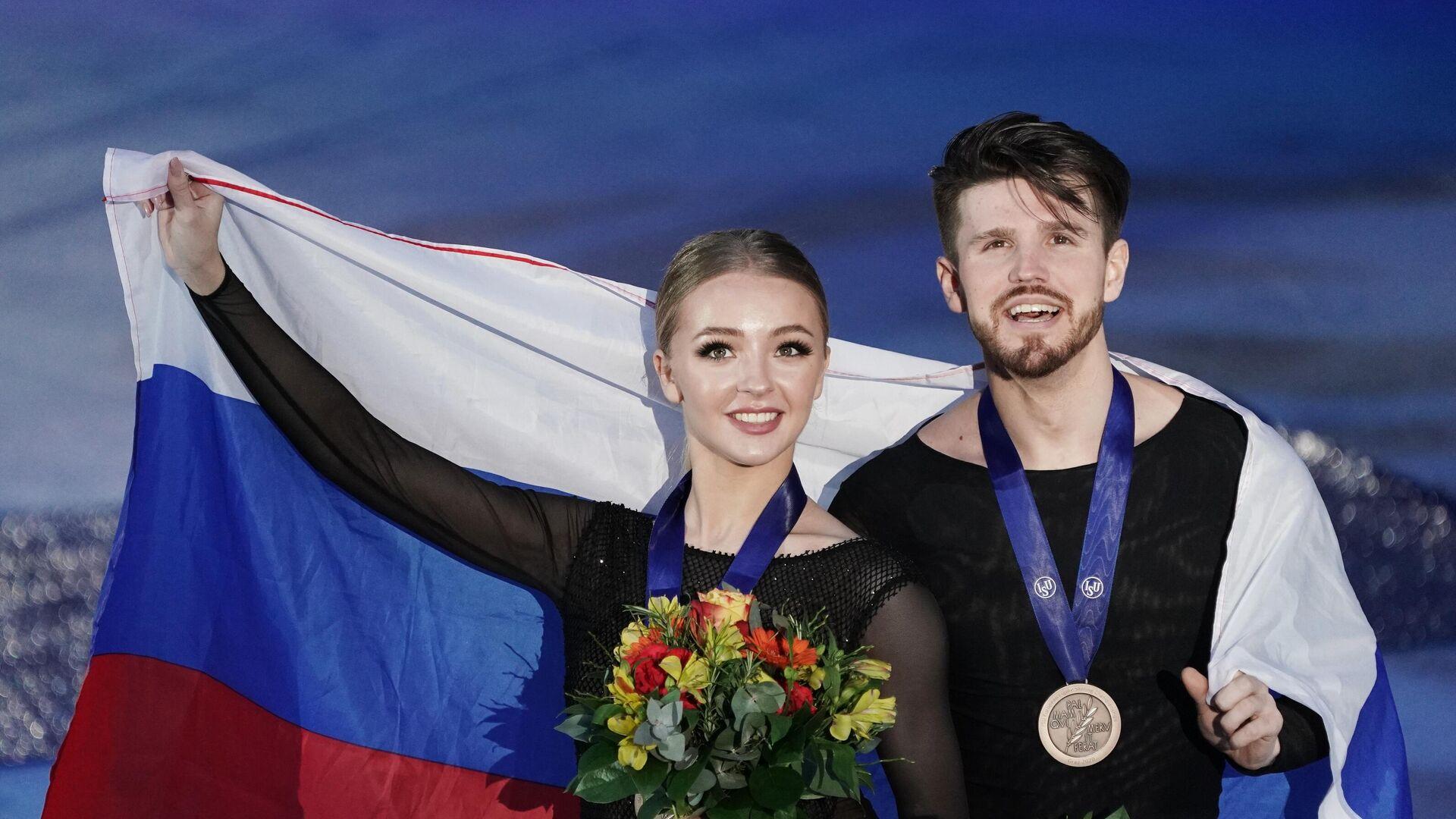 Александра Степанова и Иван Букин - РИА Новости, 1920, 08.09.2020