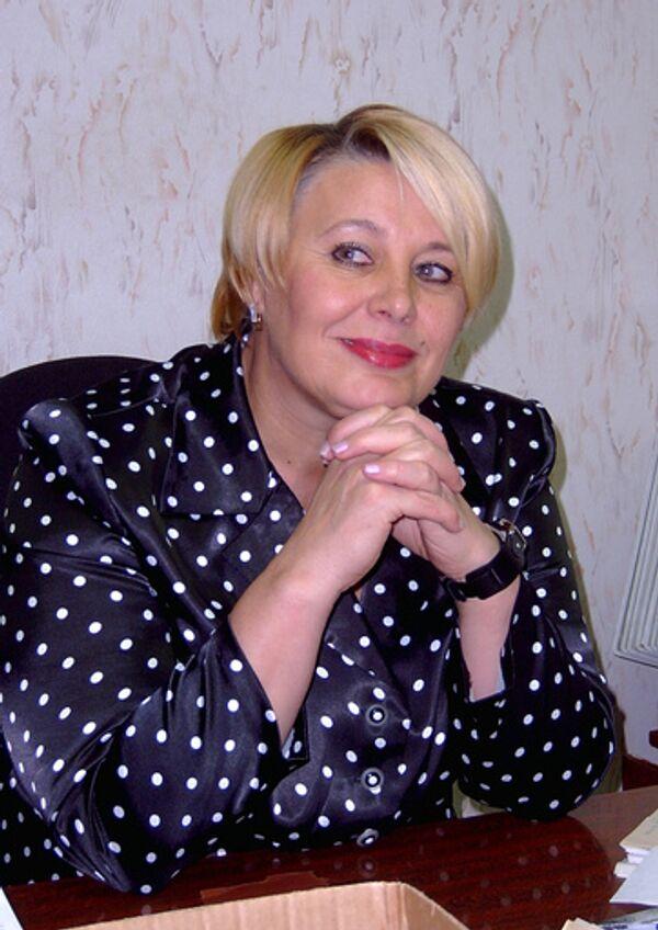 Мэр портового города Кандалакши Нина Варламова