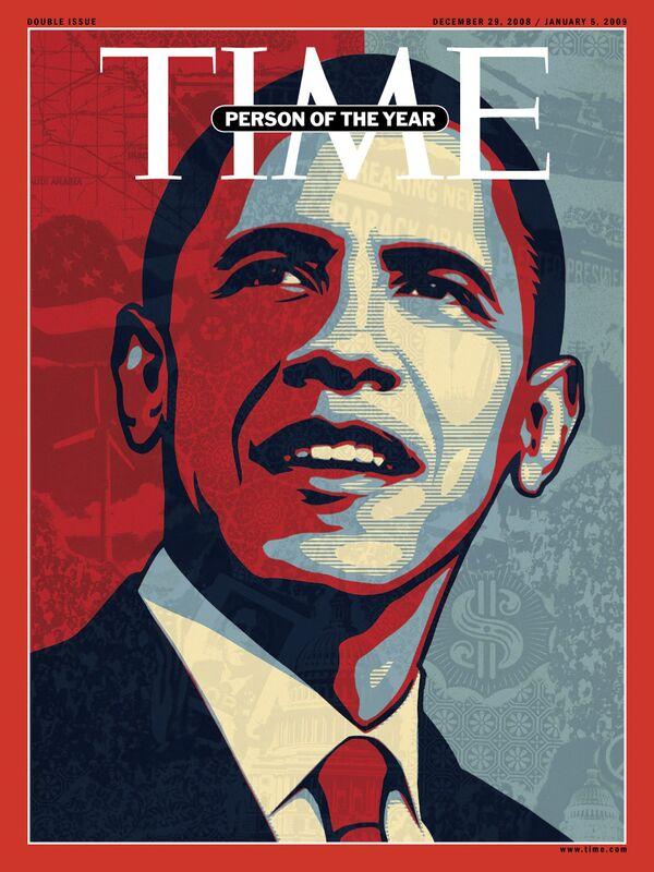 Журнал Time с Бараком Обамой на обложке