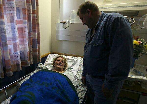 Женщина, пострадавшая в автоаварии в Израиле