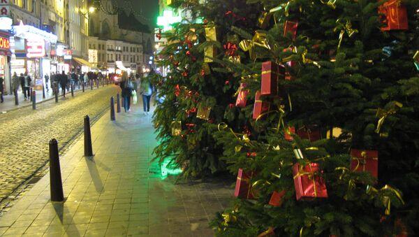 Рождественская елка. Архив