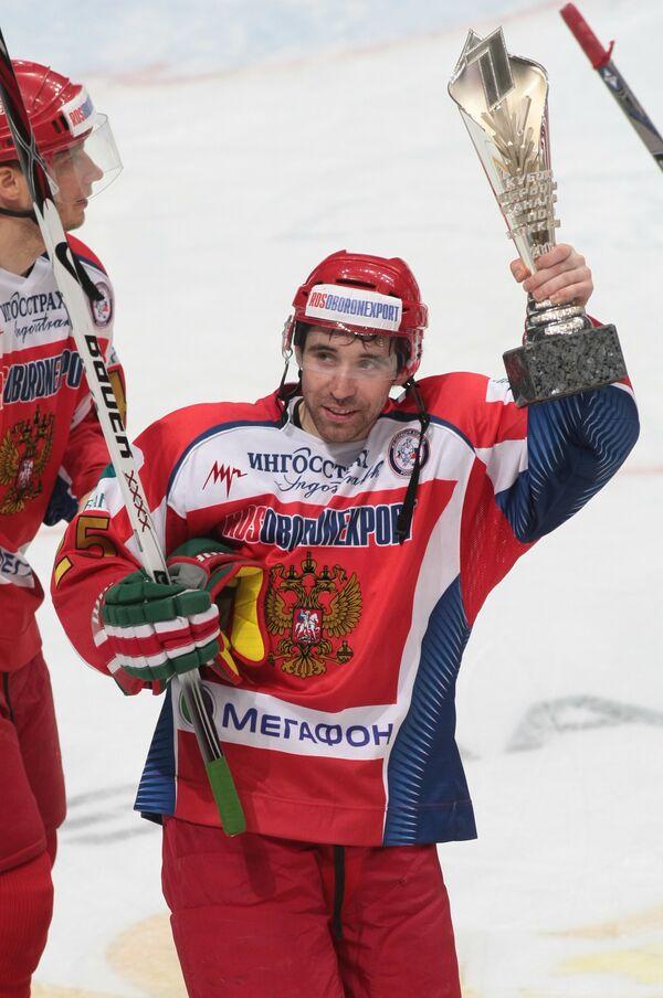 Российские хоккеисты не вошли в число лучших на Кубке Первого канала