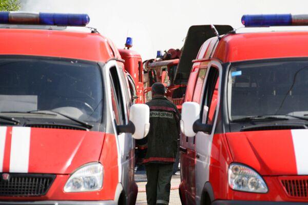 Пожар в центре Москвы потушен, пострадавших нет - МЧС
