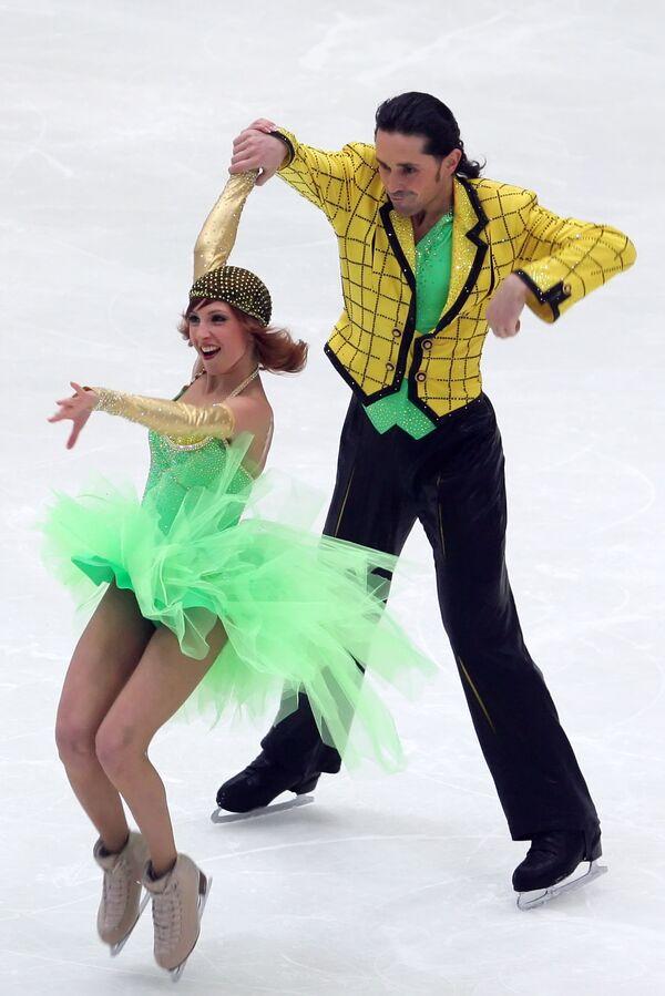 Яна Хохлова и Сергей Новицкий - 1-е место