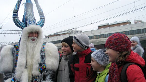 Дед Мороз из Якутии