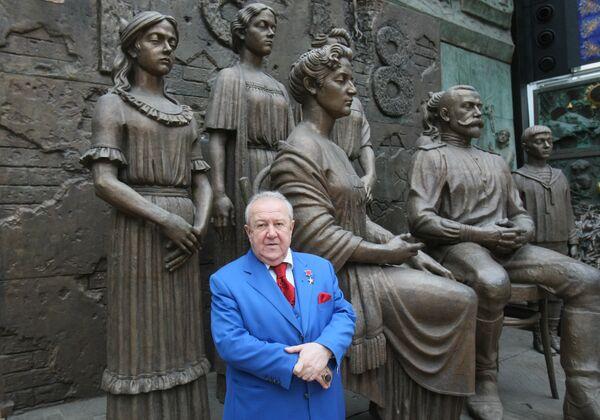 Президент Российской академии художеств Зураб Церетели