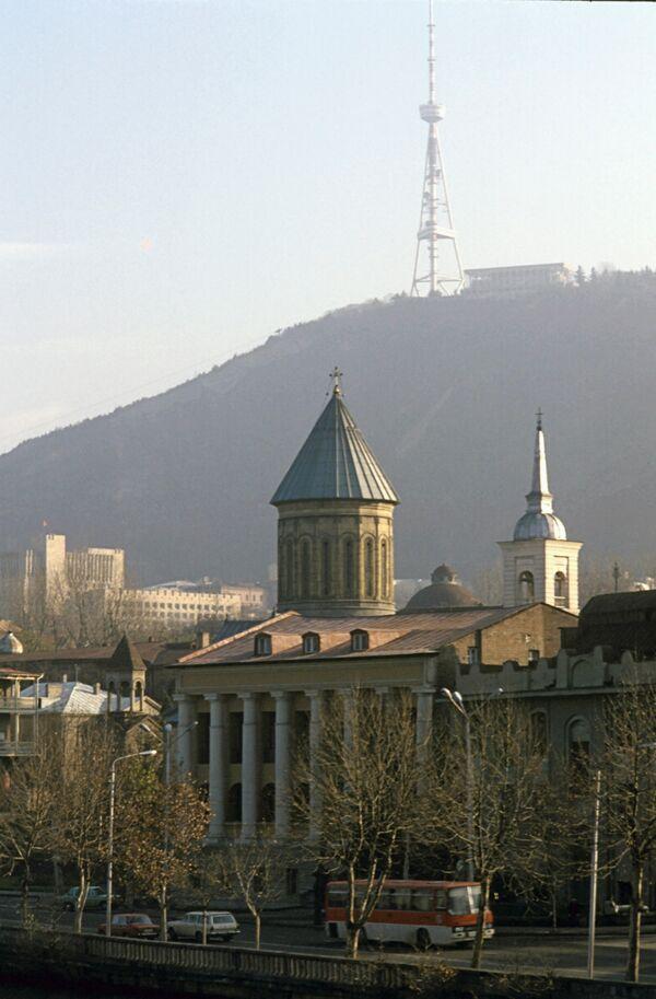 Иностранцы, возможно, солдаты США подрались с жителями Тбилиси