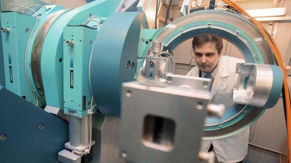 Работа Курчатовского центра синхротронного излучения и нанотехнологий