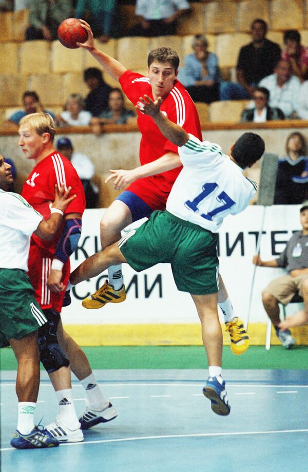 Соревнования по гандболу